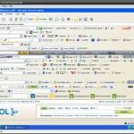 Too many toolbars