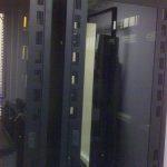 Empty server racks